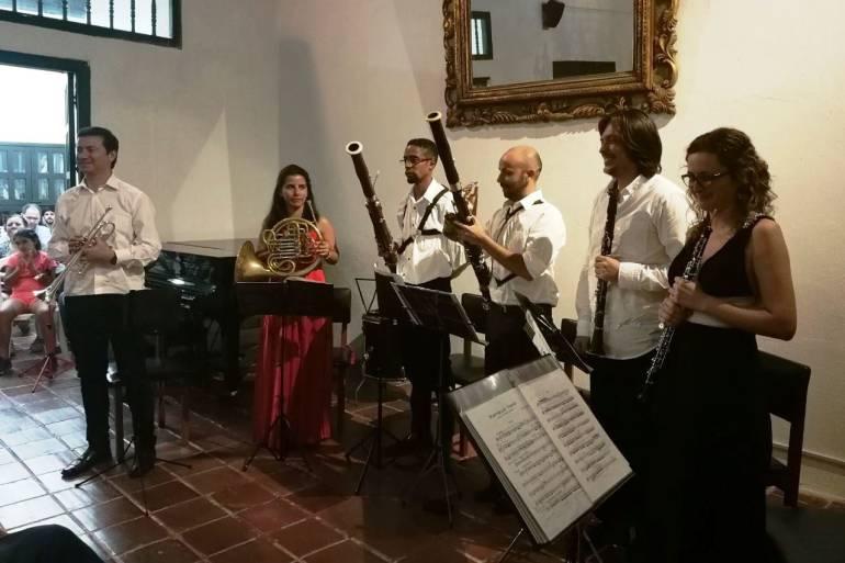 Concierto homenaje a compositores latinoamericanos en Cartagena: Concierto homenaje a compositores latinoamericanos en Cartagena