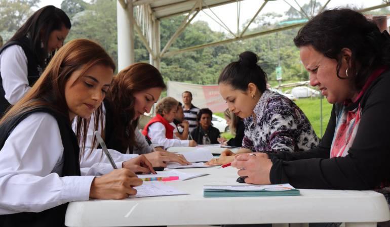 Jornada de búsqueda de empleo en Manizales