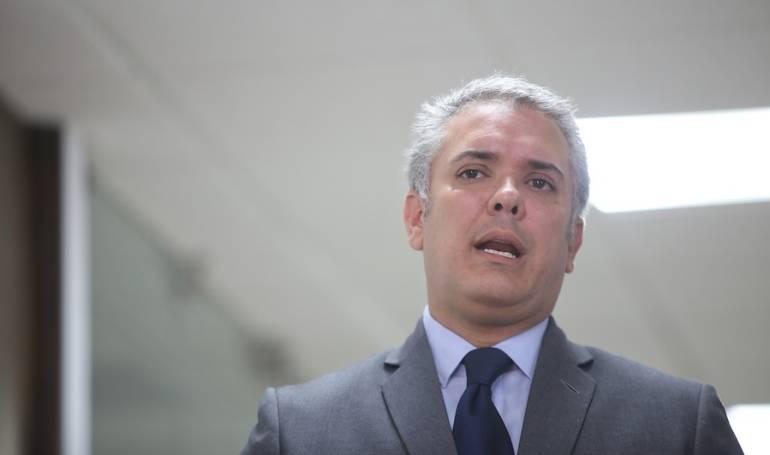 Presidente electo Iván Duque