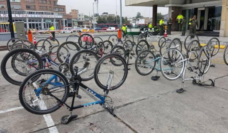 Consulte por internet si su bicicleta robada en Bogotá fue recuperada