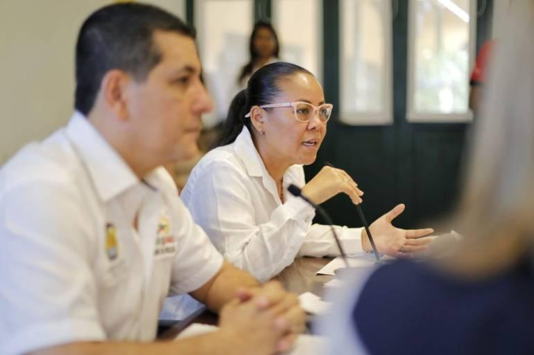 """""""No vamos a permitir que se lleven la Base Naval de Cartagena"""": Wong: """"No vamos a permitir que se lleven la Base Naval de Cartagena"""": Wong"""