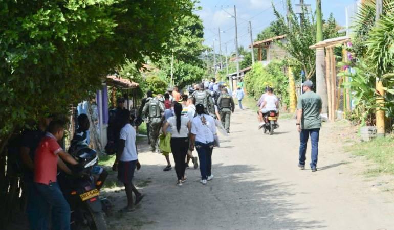 Siete personas capturadas en desalojo registrado en San Isidro
