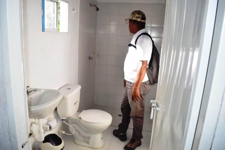 Con cocina y unidades sanitarias son equipados hogares en Arjona Bolívar: Con cocina y unidades sanitarias son equipados hogares en Arjona Bolívar