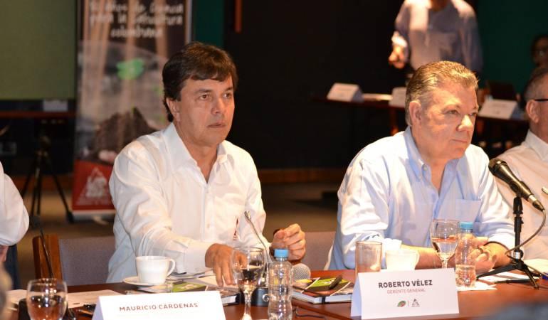 Roberto Vélez, presidente de la Federación Nacional de Cafeteros