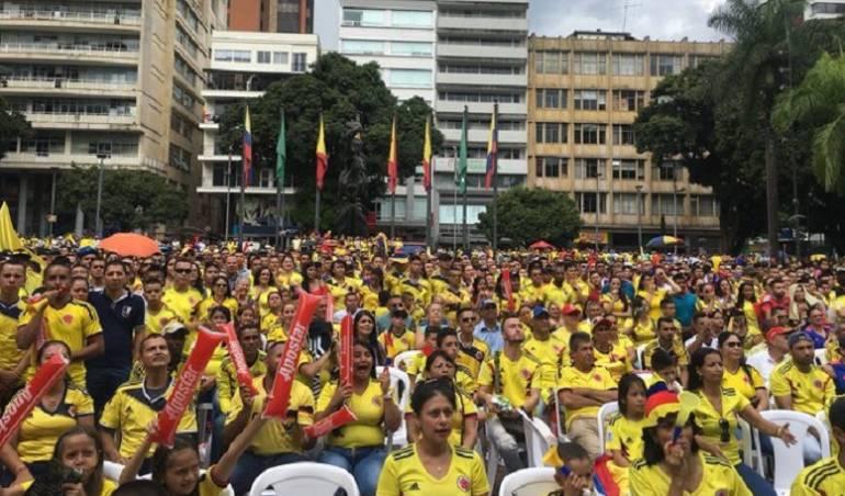 Hinchas de la selección auguran triunfo colombiano ante Senegal
