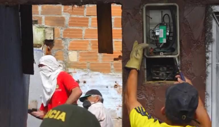 Rionegro, viviendas, drogas, demolición: En Rionegro demolerán seis viviendas usadas para vender drogas
