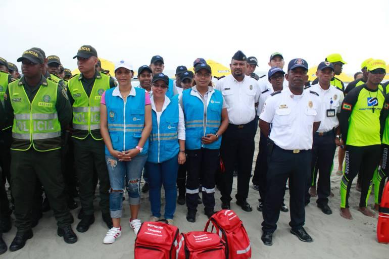 Aumenta personal de urgencias médicas para temporada turística en Cartagena: Aumenta personal de urgencias médicas para temporada turística en Cartagena