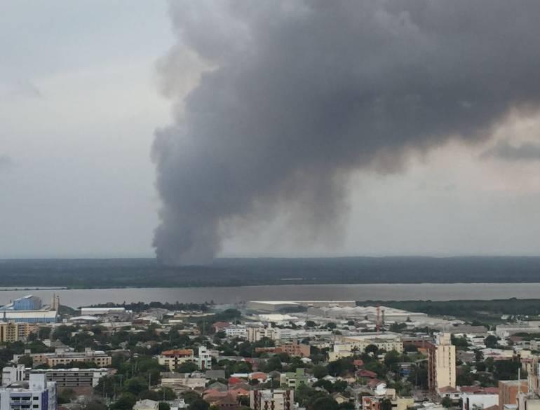 Ocupantes ilegales habrían provocado nueva quema en Isla Salamanca
