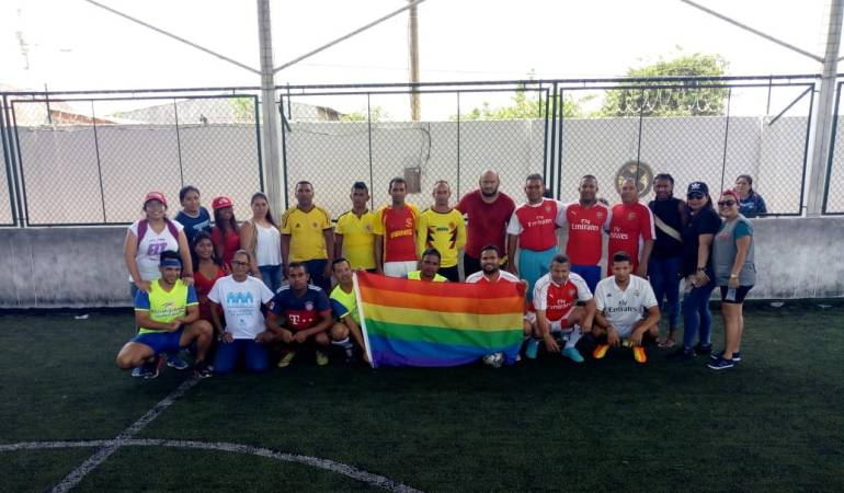 Bolívar, Comunidad LGBTI: Con marcha se conmemoró el Día Internacional del Orgullo Gay en Bolívar
