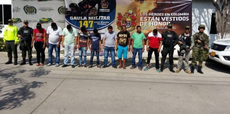 Bolívar, Clan del Golfo, delincuencia: Caen integrantes del 'Clan del Golfo' en Bolívar