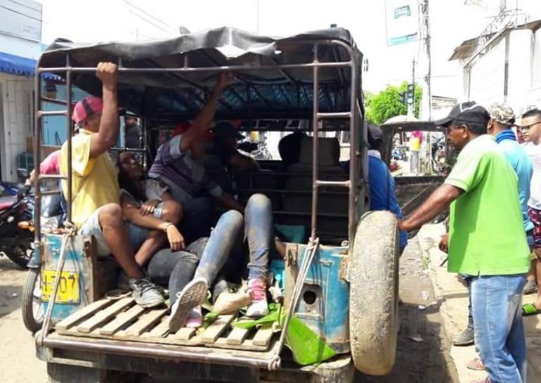 Trasladan a Cartagena a 5 heridos en accidente de bus de la UdeC: Trasladan a Cartagena a 5 heridos en accidente de bus de la UdeC