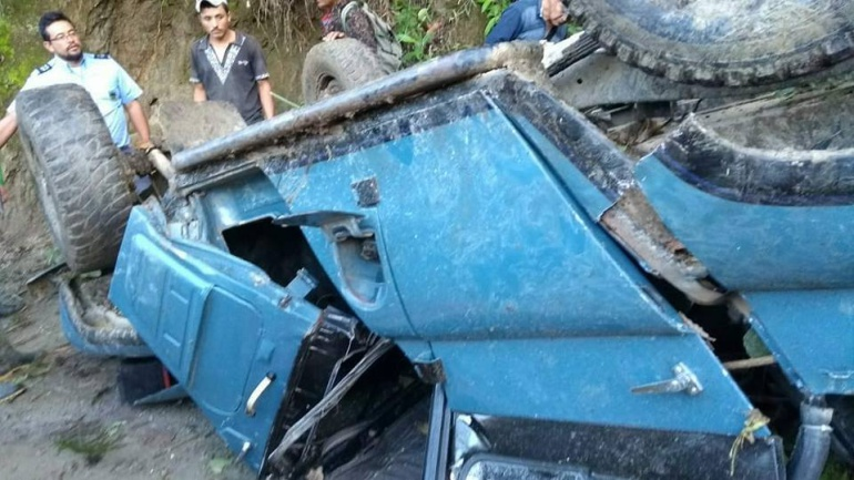 Accidente de tránsito en carreteras del sur del Tolima