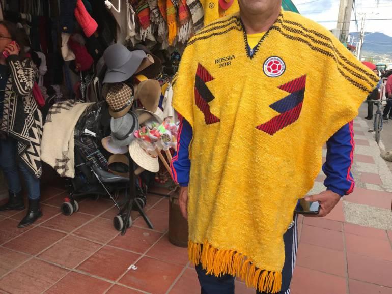 En Boyacá se fabrica la ruana de la Selección Colombia: En Boyacá se fabrica la ruana de la Selección Colombia