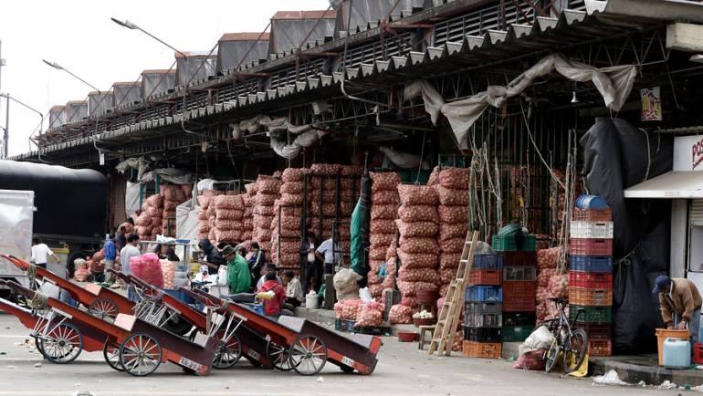 Corabastos: 200.000 toneladas de comida se comercializaron en Corabastos el ultimo mes