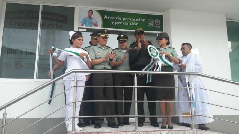 Inauguran área de prevención social y promoción en Cartagena