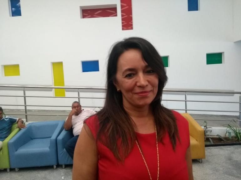 Subgerente de la Ips Mi Red, Idania Suárez.