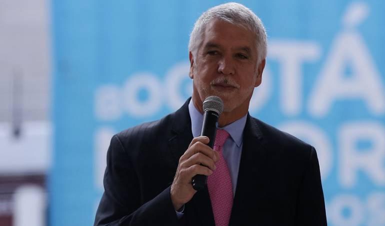 El Alcalde Enrique Peñalosa