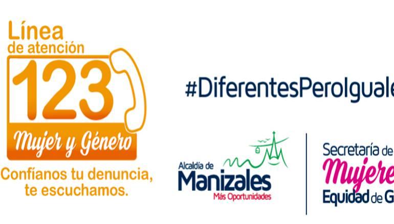 La Línea 123 Mujer y Género de Manizales está habilitada las 24 horas del día
