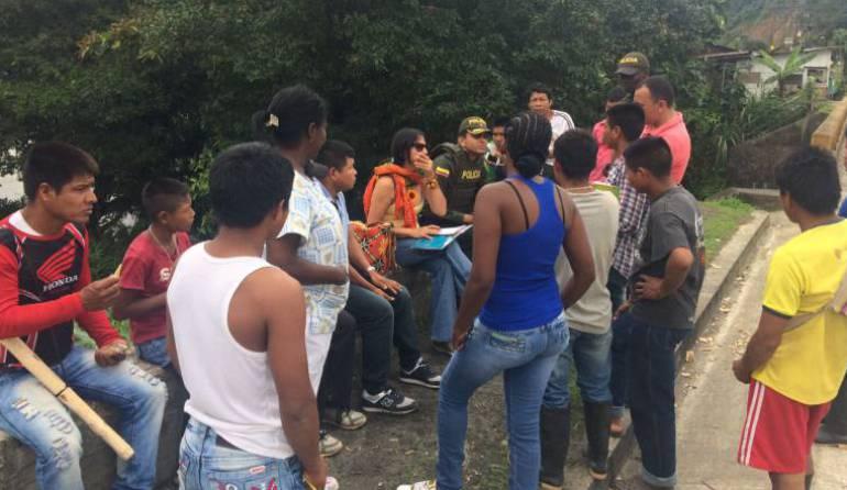Indígenas de Pueblo Rico anuncia paro estudiantil indefinido