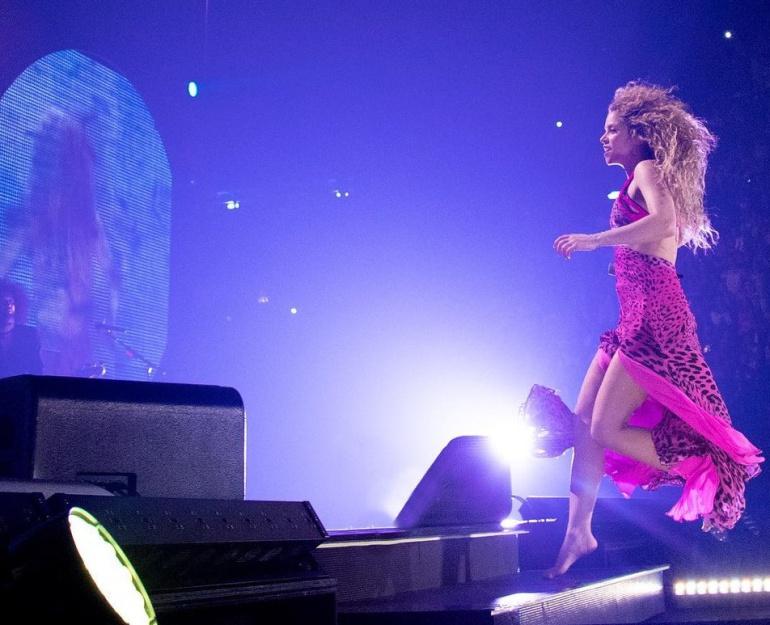 Cantante barranquillera, Shakira.