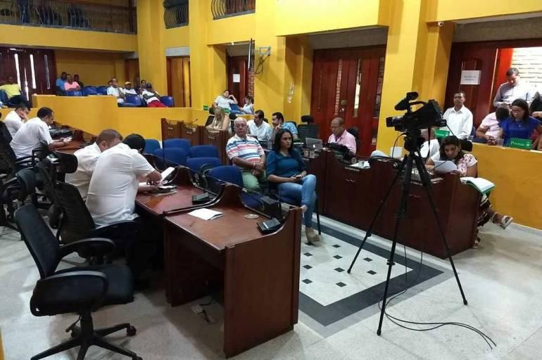 Tres proyectos de acuerdo son estudiados en el Concejo de Cartagena: Tres proyectos de acuerdo son estudiados en el Concejo de Cartagena