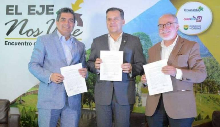 Hoy se firma la Región Administrativa de Planificación para el eje cafetero
