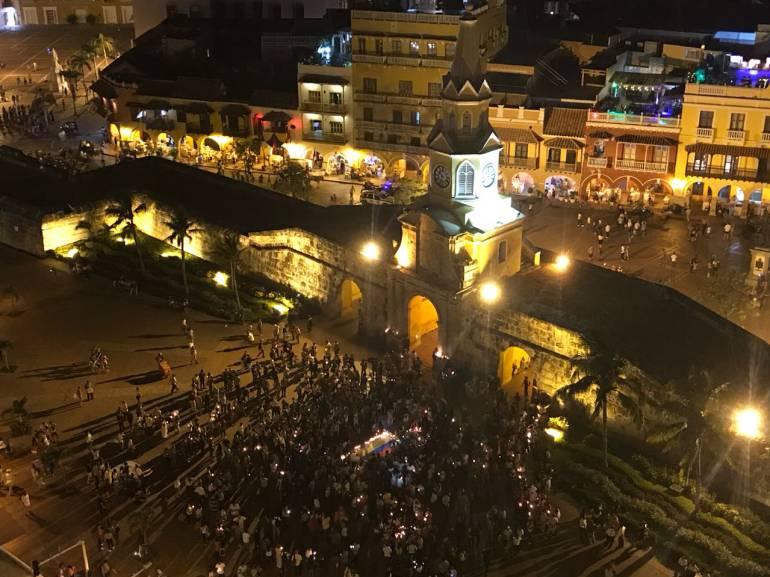 Cartagena se sumó a Velatón Nacional contra los asesinatos de líderes: Cartagena se sumó a Velatón Nacional contra los asesinatos de líderes