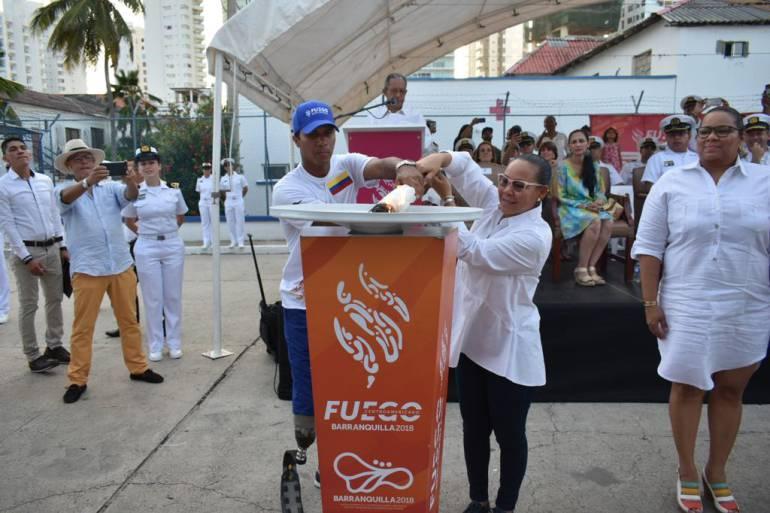 El Victoria entregará el Fuego Centroamericano a Barranquilla: El Victoria entregará el Fuego Centroamericano a Barranquilla