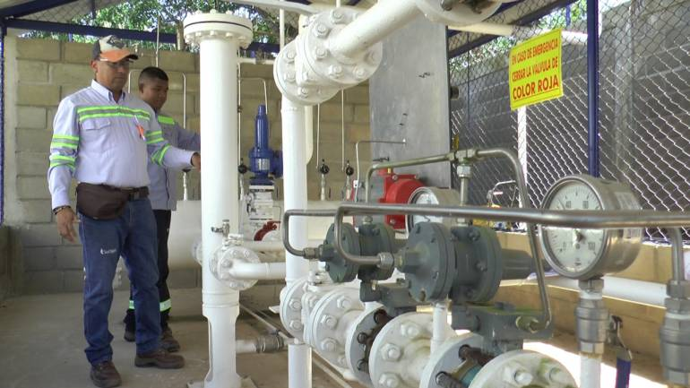Proyecto de 'Gasificación Natural Domiciliaria' llegó al sur de Bolívar: Proyecto de 'Gasificación Natural Domiciliaria' llegó al sur de Bolívar