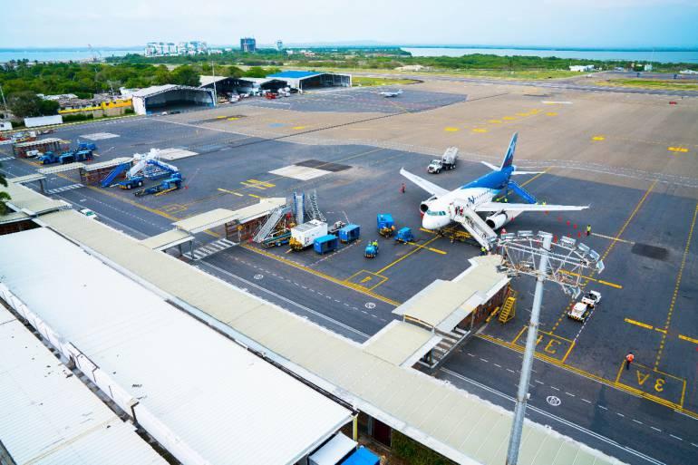 Incremento del 7.1% en el tránsito de pasajeros en Aeropuerto de Cartagena: Incremento del 7.1% en el tránsito de pasajeros en Aeropuerto de Cartagena
