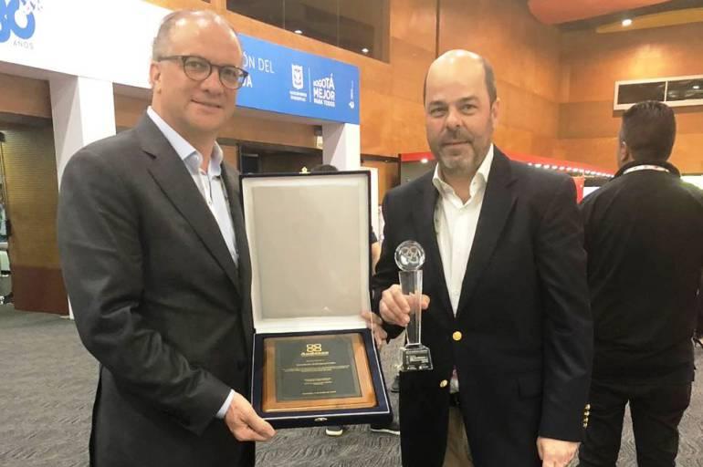 Fundador del Grupo Sala recibió reconocimiento de Andesco: Fundador del Grupo Sala recibió reconocimiento de Andesco