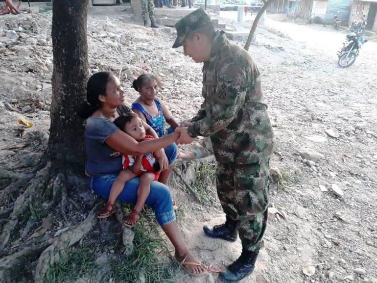 Nuevas veredas del sur de Bolívar serán custodiadas por el Ejército: Nuevas veredas del sur de Bolívar serán custodiadas por el Ejército
