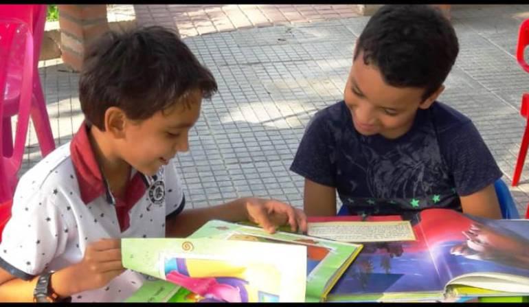"""Campaña """"Libro Ruta Gana Cartagena"""" para biblioteca de Tierra Bomba: Campaña """"Libro Ruta Gana Cartagena"""" para biblioteca de Tierra Bomba"""