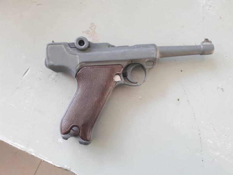 En Cartagena, atracaban con un arma del año 1900: En Cartagena, atracaban con un arma del año 1900