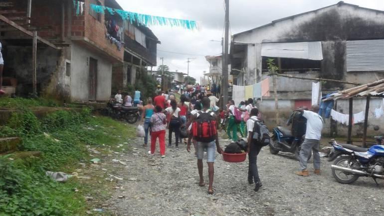 Desplazamientos: 131 familias desplazadas dejan enfrentamientos entre grupos ilegales