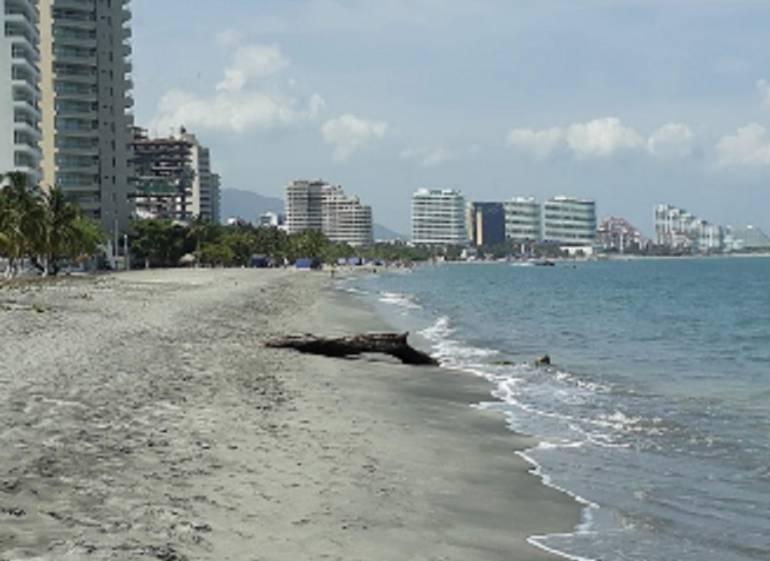 Playas Bello Horizonte, Santa Marta. /FOTO GOOGLE MAPS