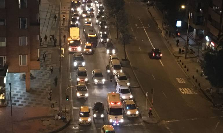 Accidentes de transito: Choque de tres buses en Chapinero deja 25 heridos