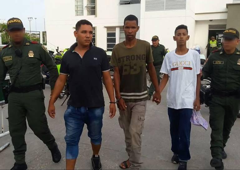Cuatro capturados por homicidio y porte de armas en Cartagena: Cuatro capturados por homicidio y porte de armas en Cartagena