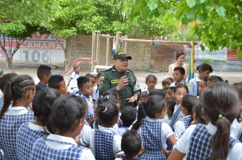 Policía activa dispositivo para regreso a clases en Bolívar: Policía activa dispositivo para regreso a clases en Bolívar