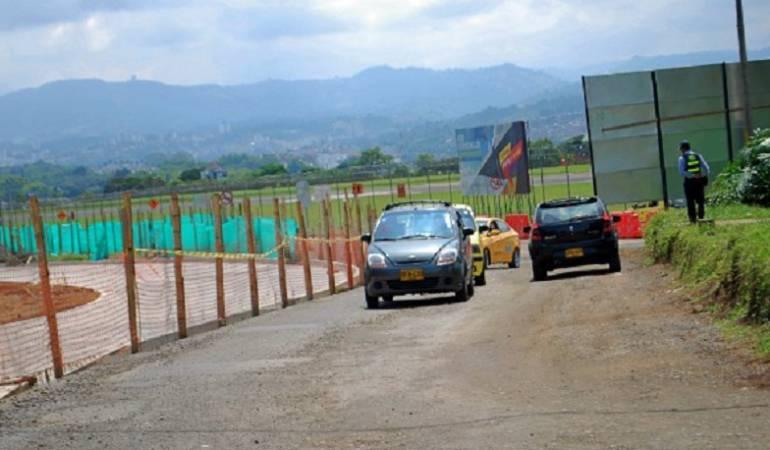 Nuevos ajustes viales en el ingreso al Aeropuerto Matecaña