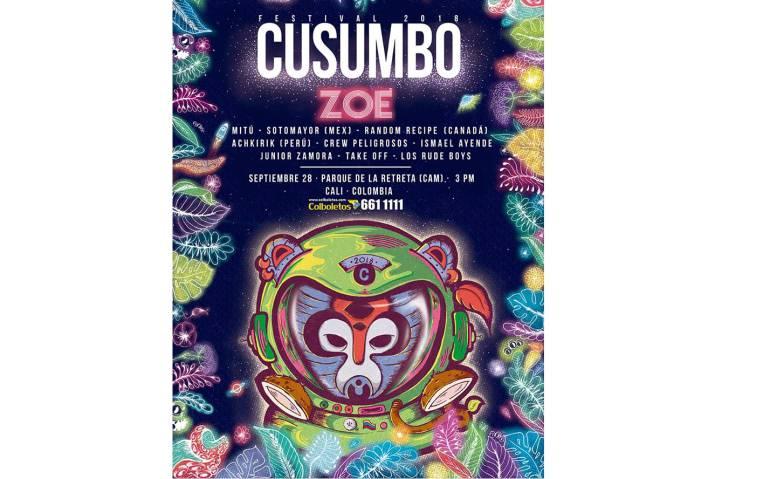 Festival Cusumbo en Cali: Cali enciende motores para la tercera edición del festival Cusumbo