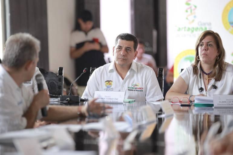 Adelantan comité técnico de Juegos Nacionales en Cartagena: Adelantan comité técnico de Juegos Nacionales en Cartagena