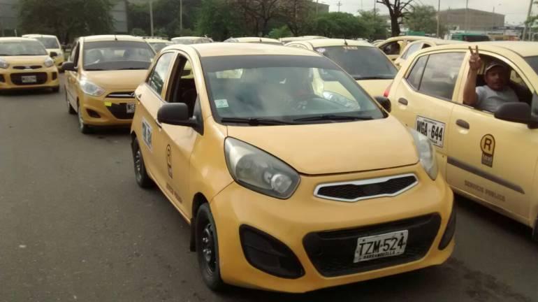 AMB solicita a Mintransporte eximir de pago de panillas a taxistas: AMB pide a Mintransporte eximir de pago de planillas a taxistas en juegos