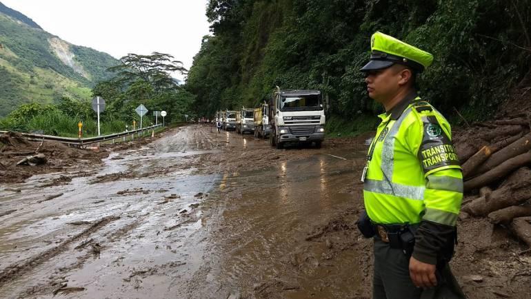 Temporada de lluvias: Continua monitoreo por fuertes lluvias en Cundinamarca