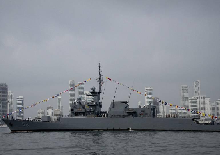 Diez veleros y dos buques de guerra estarán en el SAIL Cartagena: Diez veleros y dos buques de guerra estarán en el SAIL Cartagena