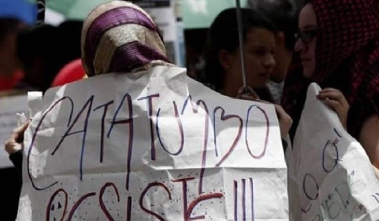Autoridades advierten más desplazamientos por violencia en Catatumbo