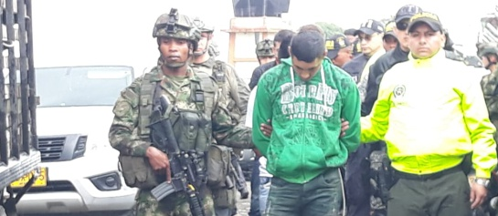 Disidencias farc asesinato miembros CTI Nariño: Tres venezolanas entre detenidos por asesinato de funcionarios del CTI