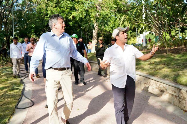 Minhacienda elogia escenarios para los Juegos Centroamericanos: Minhacienda elogia escenarios para los Juegos Centroamericanos