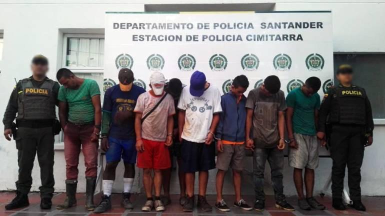 ROBO, PUENTE, PASO: En Santander se estaban robando un puente metálico
