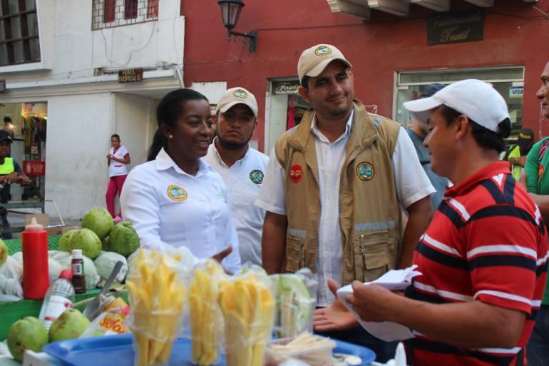 Reubican único vendedor con confianza legítima en calle La Moneda Cartagena